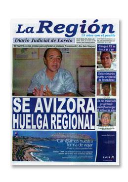 diario region iquitos: